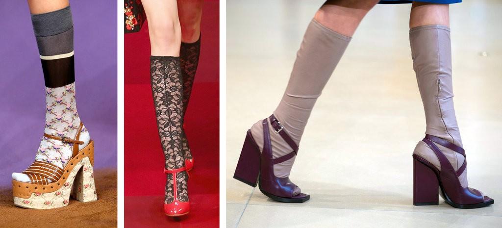 Catwalk shoes