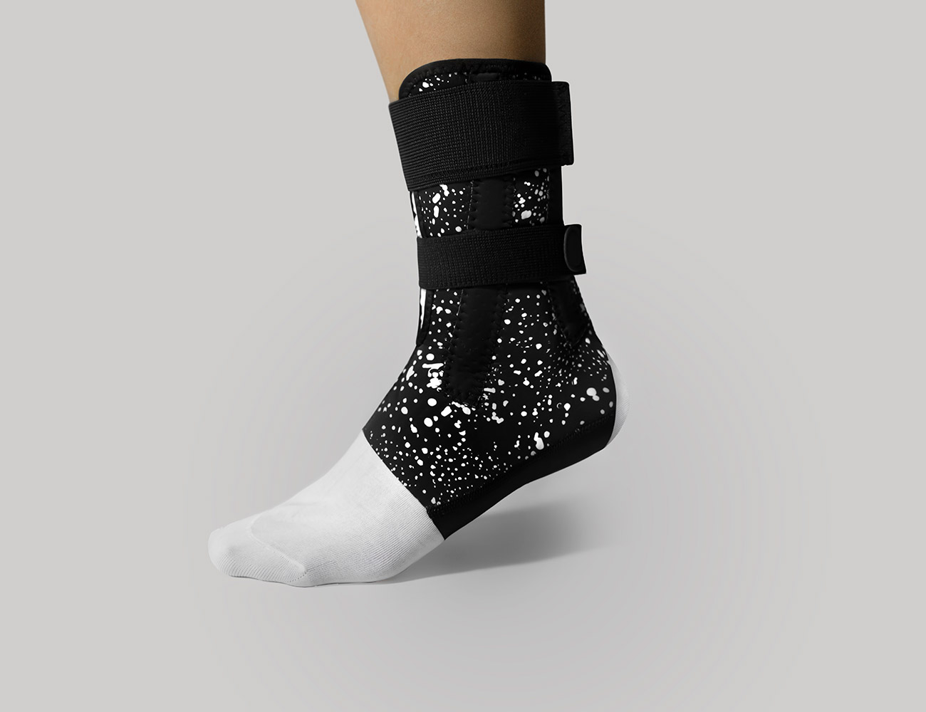 Top Ankle Support With 4 Flexible Side Stays