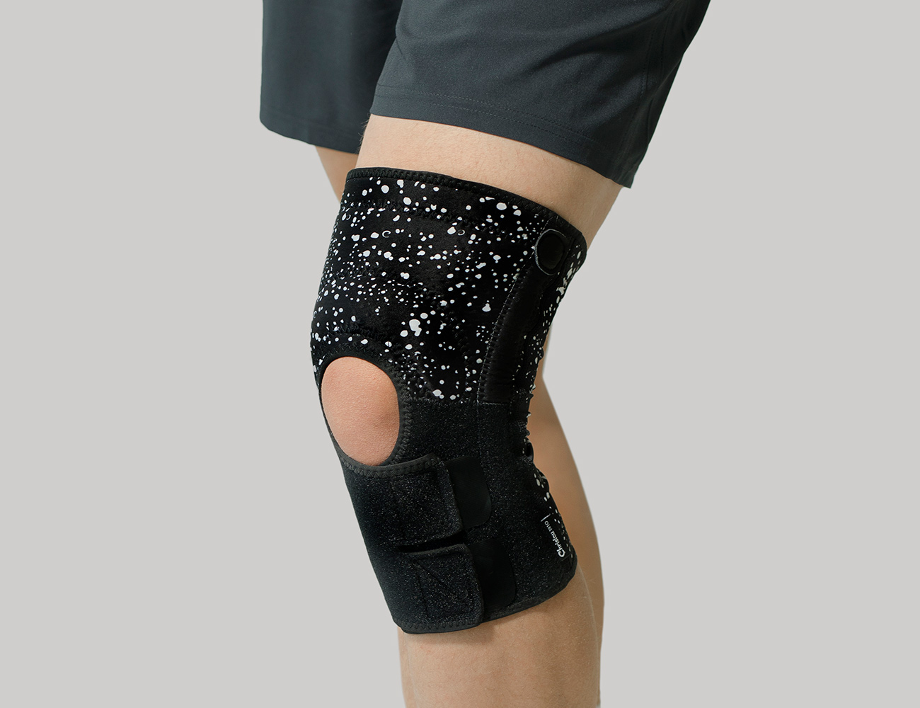 Top Knee Support With Silicone Patella Pad & Flexible Side Stays