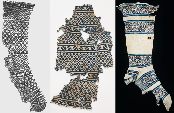 Ancient Egyptian socks