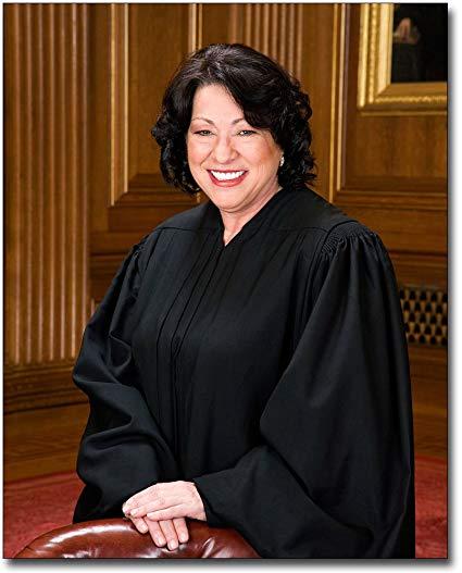 Sonia Sotomayor, Supreme Court of Justice U.S